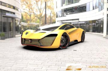 Solar Electric Silent Supercars 1.140
