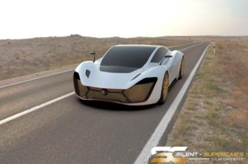 Solar Electric Silent Supercars 1.154