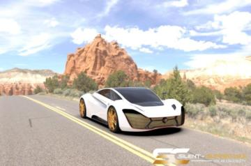 Solar Electric Silent Supercars 1.155