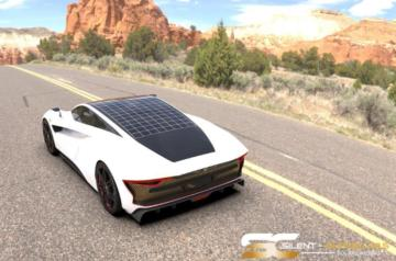 Solar Electric Silent Supercars 1.187