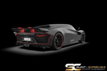 Solar Electric Silent Supercars Stealth 1-5