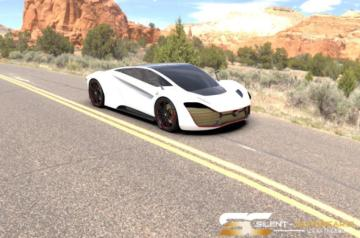 Solar Electric Silent Supercars1.188